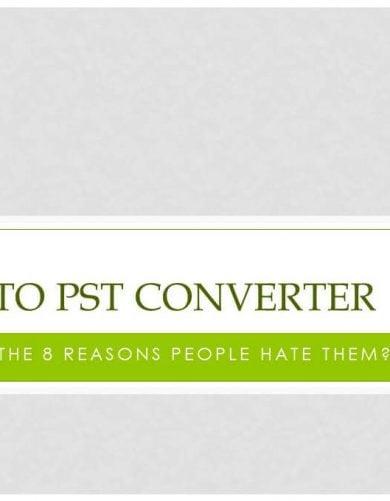 eml to pst converter tool