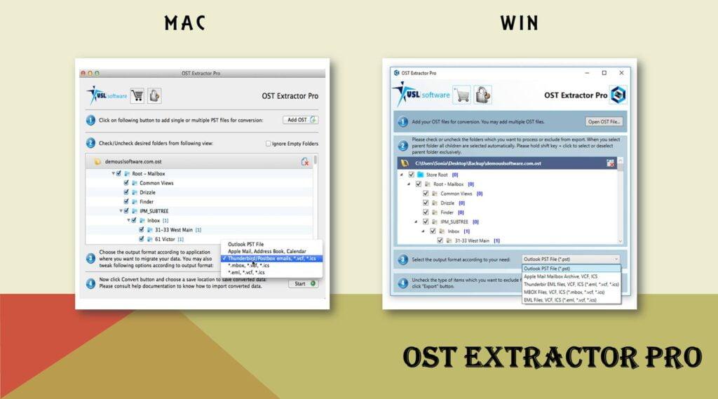 open ost file in outlook