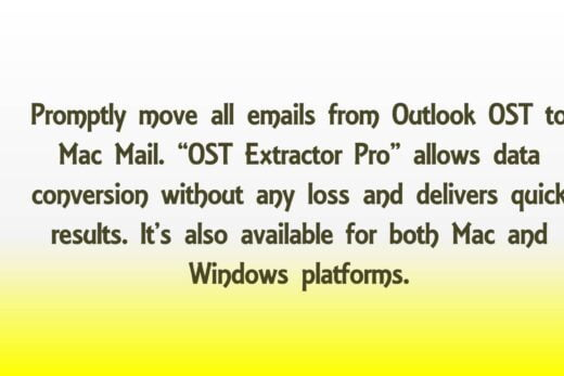 Outlook OST to Mac Mail Migration