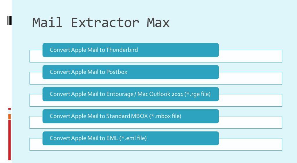 OS X Mail to Thunderbird